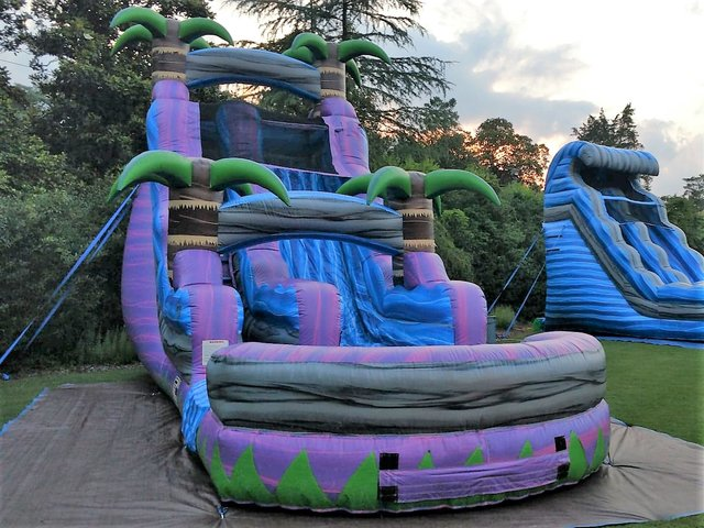 Purple Oasis Water Slide - 18ft
