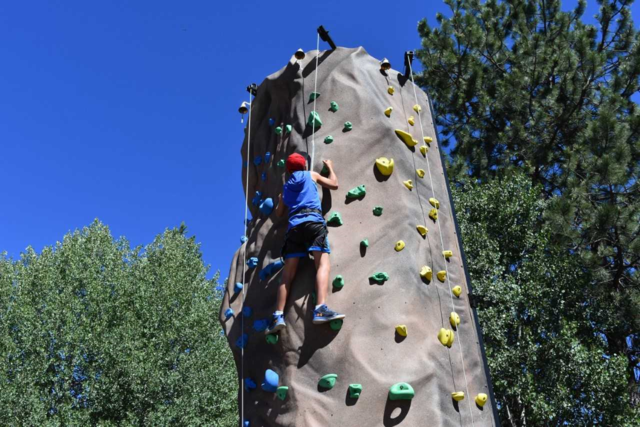 24-Foot 4-Person Station Rock Climbing Wall