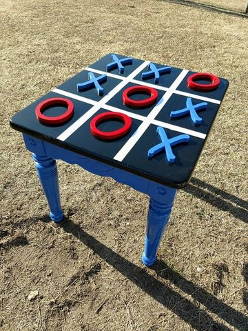 Tic Tac Toe Table