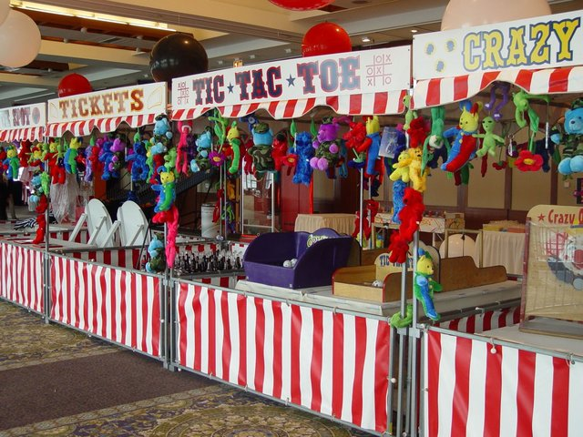 Create Your Own Carnival Booth Package