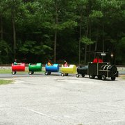 Carolina Trackless Barrel Train