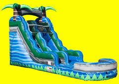 Blue Crush Single Lane Water Slide 15ft