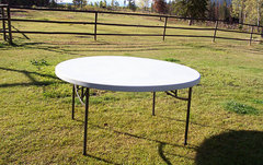 60 inch Round Table Rental