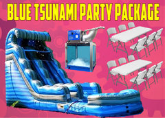 Blue Tsunami Party Package