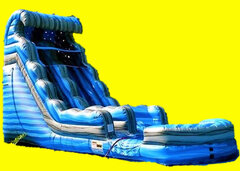 Blue Tsunami Water Slide - 18ft