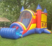Carolina Castle Combo Bouncer with Landing Pad