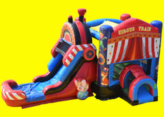 Circus Train Bounce And Slide WET