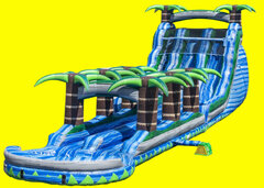Blue Crush Double Lane Water Slide Slip and Slide - 22ft