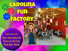 Party Barn Rental with Petting Zoo Visit