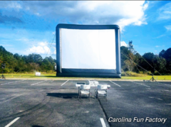 Portable Outdoor Movie Screen Rental