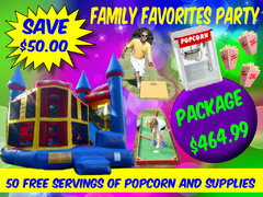 Family Favorites Party Package