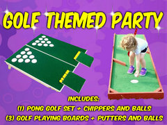 Golf Themed Party Package