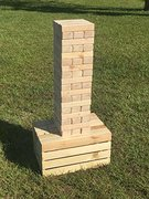 Giant Jenga Yard Game