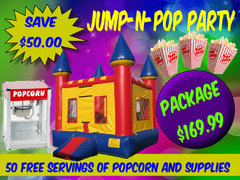 Jump N Pop Party Package