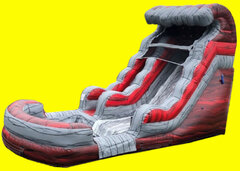 Liquid Hot Magma Water Slide - 15ft