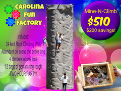 Mine-N-Climb Party Package