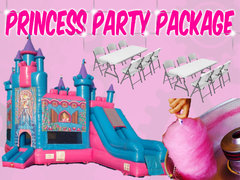Princess Party Rentals Package