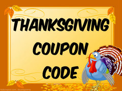 Thanksgiving Coupon Code