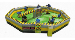 Toxic Meltdown Inflatable Game Rental - 8 Players