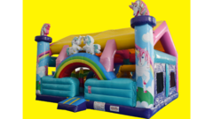 Unicorn Land Toddler Bounce House