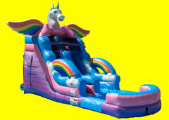 Unicorn Water Slide 16ft