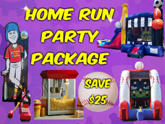 Home Run Party Package