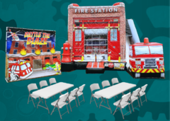 Firefighter Party Game Package