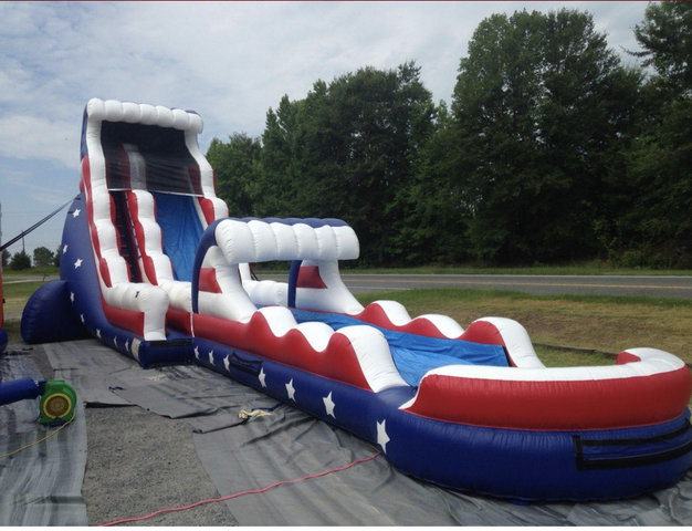 22' Ole Faithful Waterslide with slip n slide