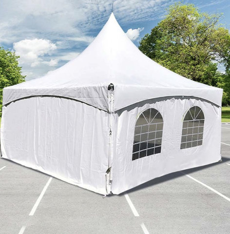 20 x 20 High Peak Tent With Sides