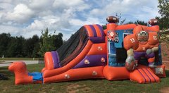 Wet Bounce House Slide Combo- Clemson