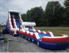 22 Ole Faithful Waterslide with slip n slide