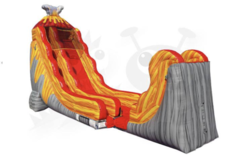 25 Lava Rush Water Slide