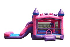 Wet Bounce House Slide Combo- Tiara