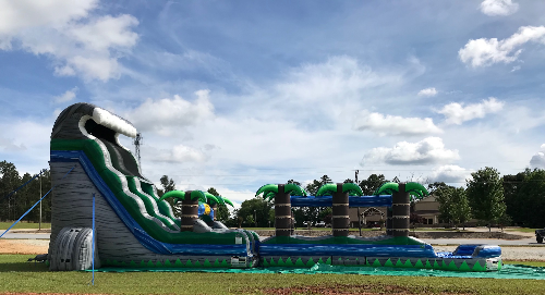 22' Tsunami- Water slide with Slip and Slide