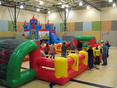 Interactive Inflatable Games