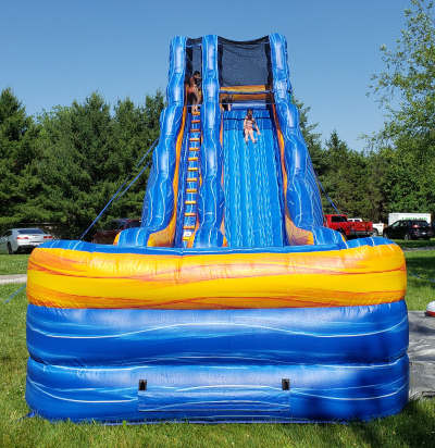 22 ft Illini Water Slide front
