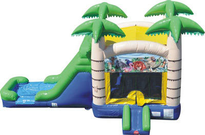 Tropical Combo Bouncer Rental