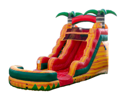15ft Tropical Fiesta Breeze Water Slide