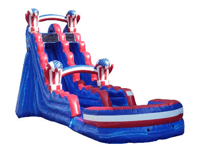 Water Fun 19 ft American Boxing Water Slide