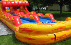 Water Fun 30ft Dual Lane Slip and Slide