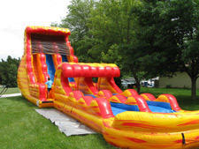 Water Fun 53ft Tsunami Dual Lane Water Slide & Slip n Slide