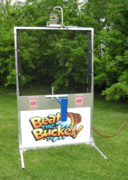 Water Fun Beat The Bucket Water Game