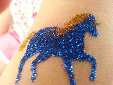 Central Illinois Glitter Tattoos