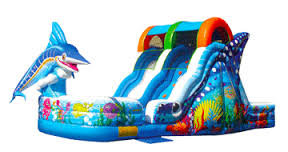 Marlin Splash Slide, Dry