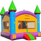 Retro Castle Bounce House