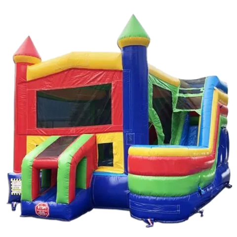 Castle Combo With Side Slide