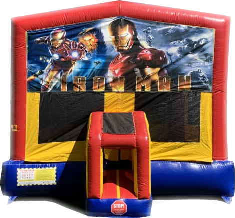 Marvel's Iron Man Bounce House