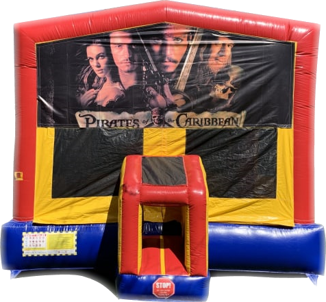Pirates of the Caribbean Bounce House Rental
