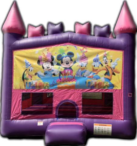 Princess Castle Happy Birthday From Mickey and Friends