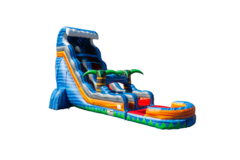 22 ft Volcanic Tidal Wave Water Slide